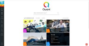 qwant Le moteur de recherche Français qui respecte votre vie privée